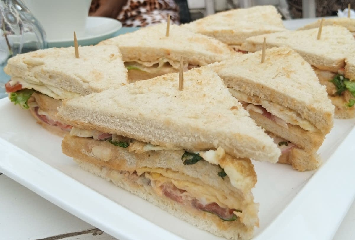 Sandwich - LET'S CHECK OUT THE CORNER CAFE, MAITAMA