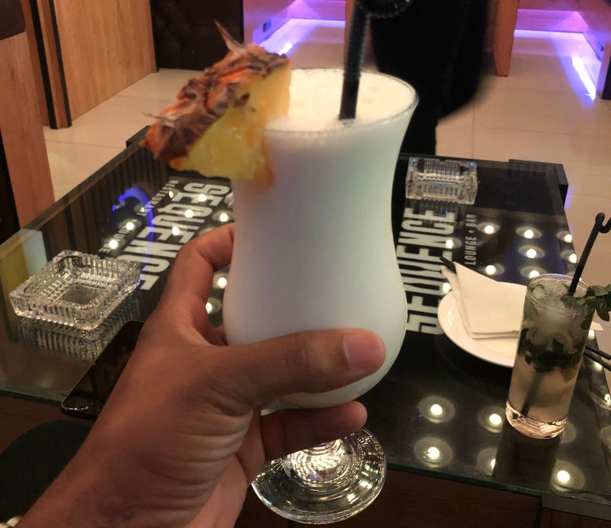 Sequence Lounge Abuja Pina Colada - LET'S CHECK OUT SEQUENCE LOUNGE, MAITAMA