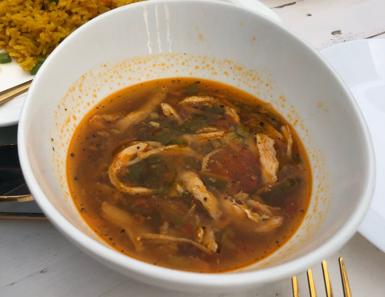 Chicken Soup - LET'S CHECK OUT THE CORNER CAFE, MAITAMA