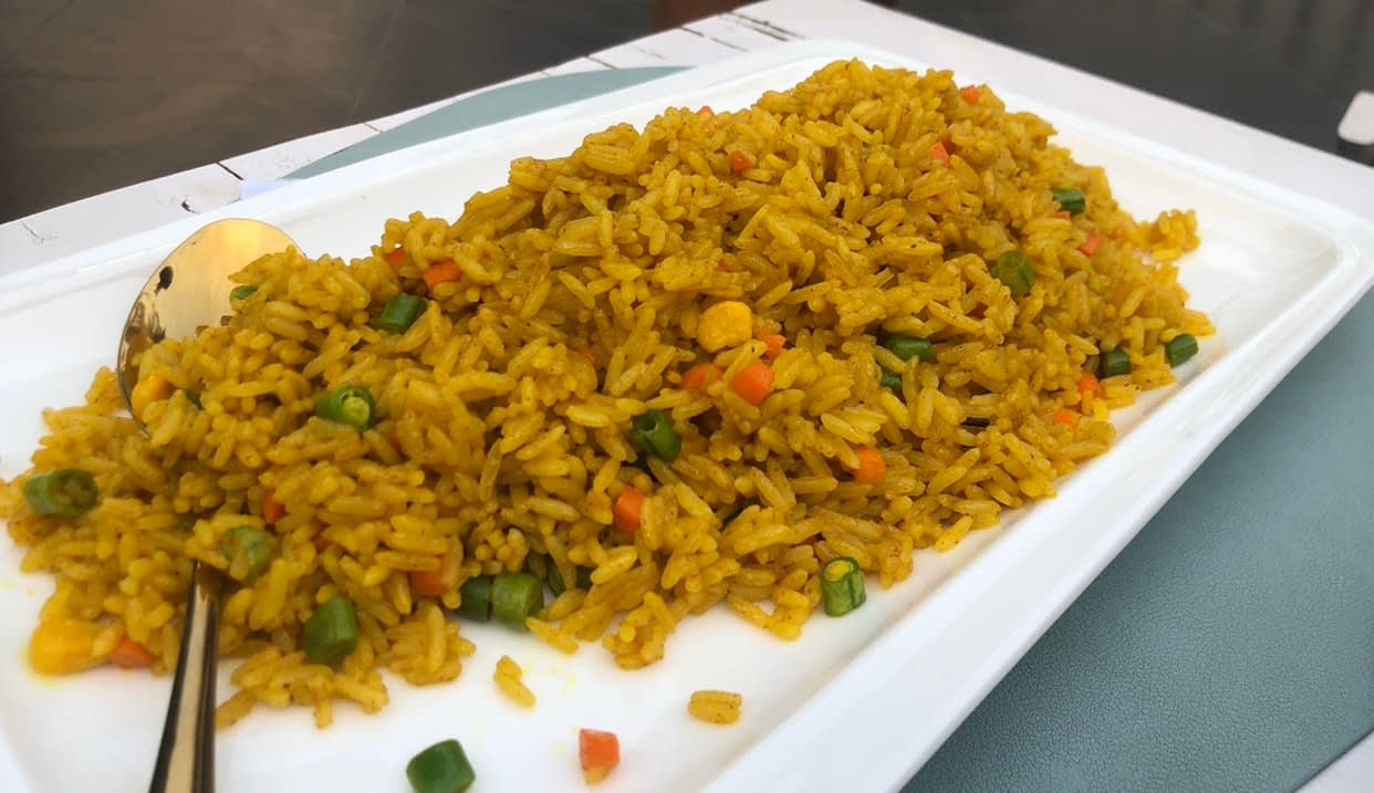 Fried Rice - LET'S CHECK OUT THE CORNER CAFE, MAITAMA