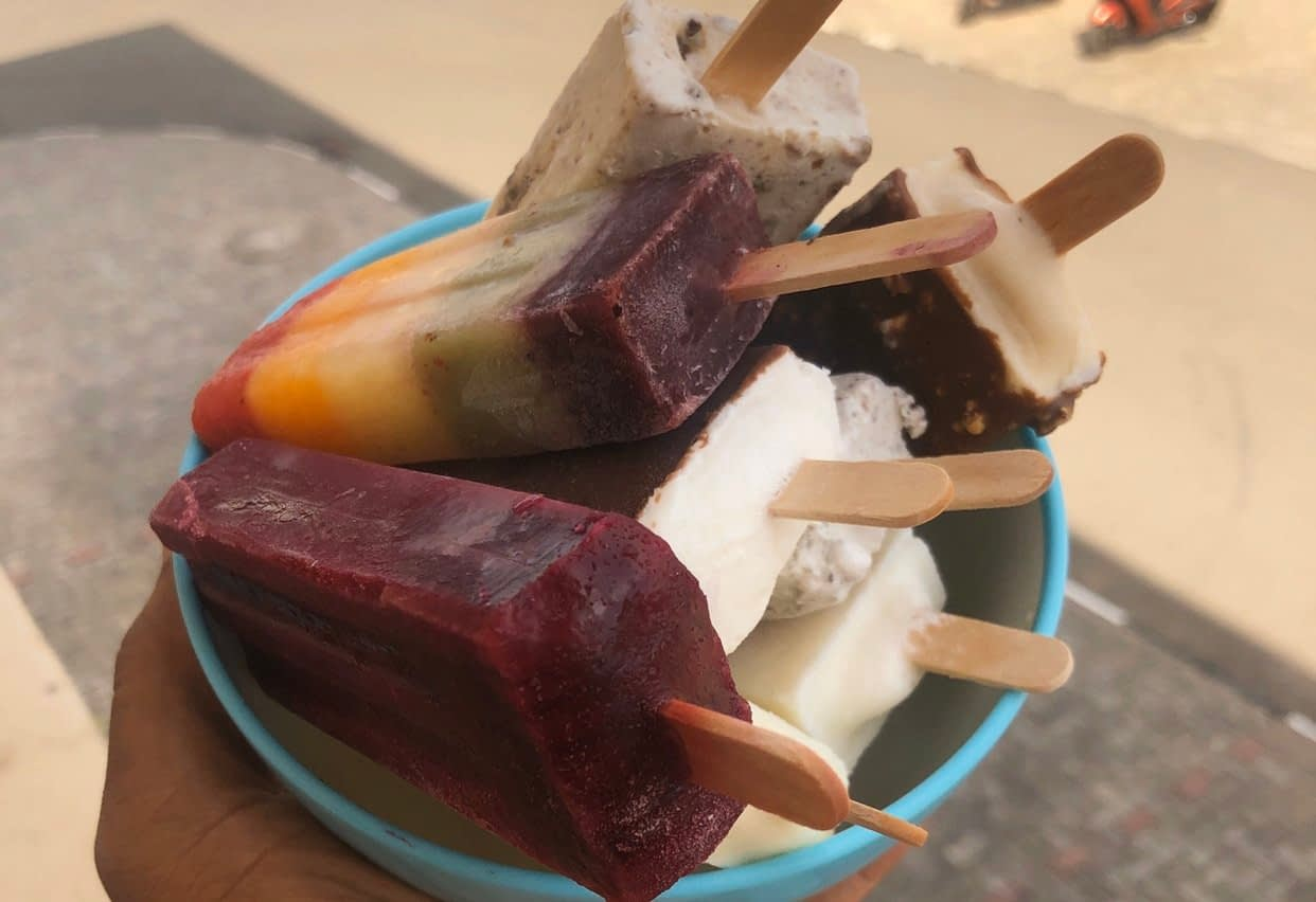 Popsicles - QUICK FIX MAC & CHEESE WITH POPSICLES FROM JCPOPS