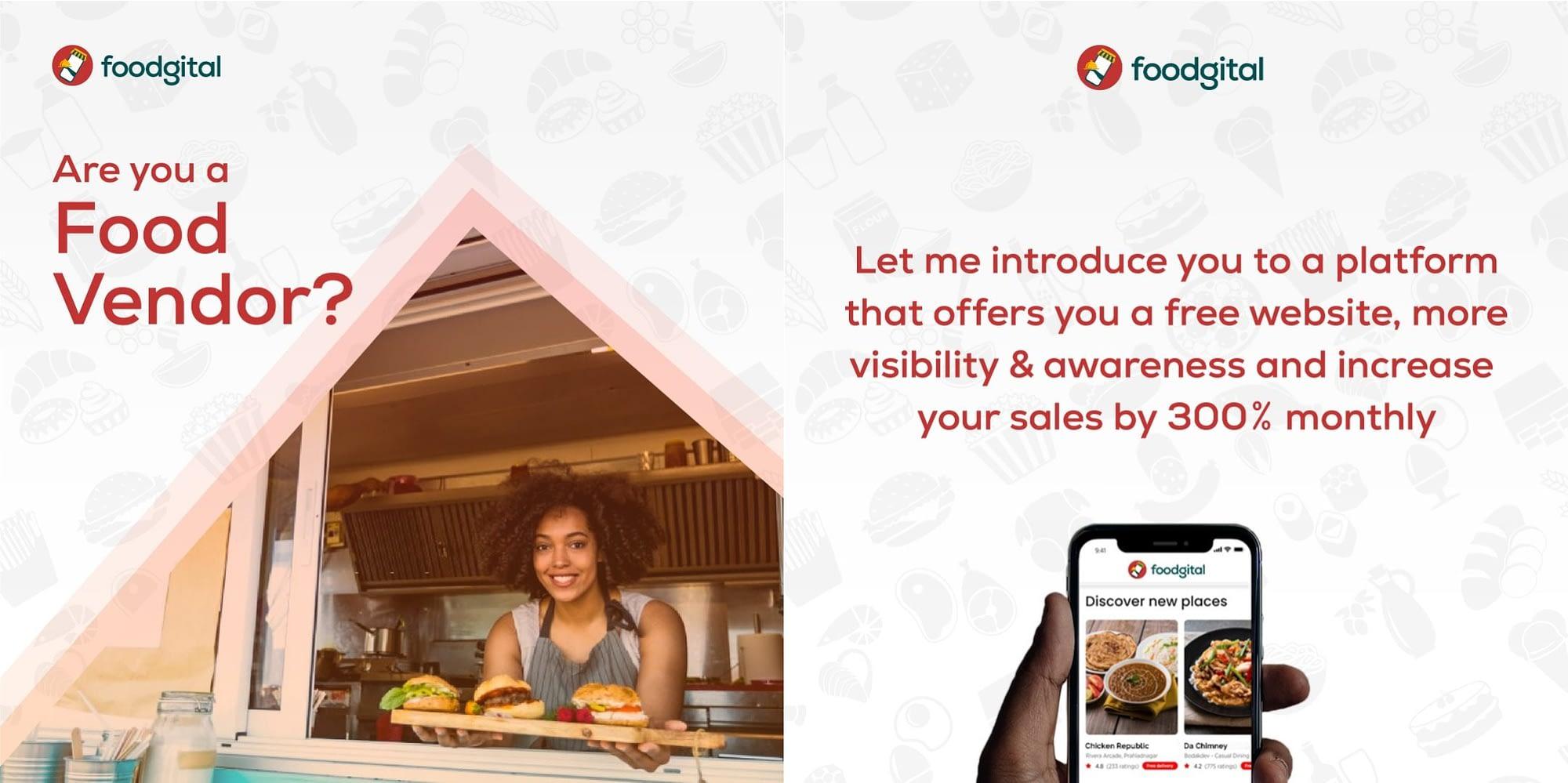 Foodgital Banner - LET'S CHECK OUT EDEN BY WINGIST, GARKI