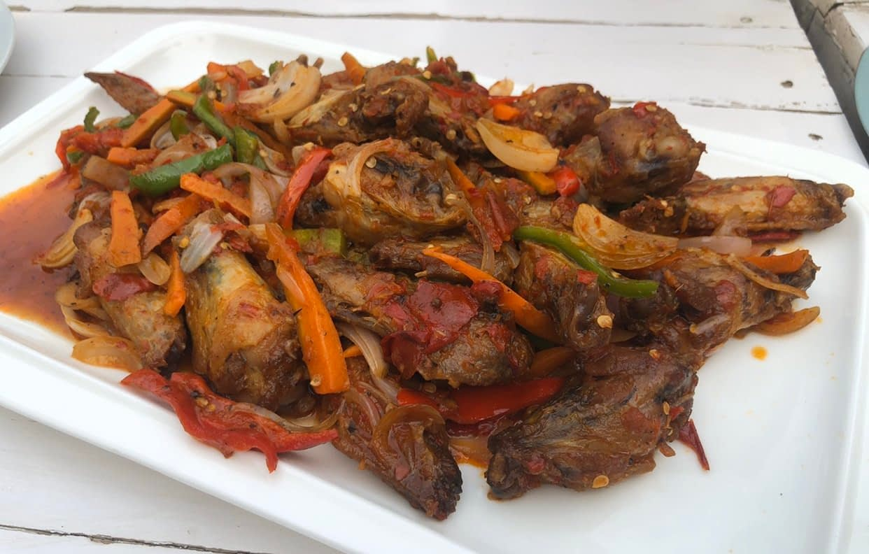 Wings - LET'S CHECK OUT THE CORNER CAFE, MAITAMA