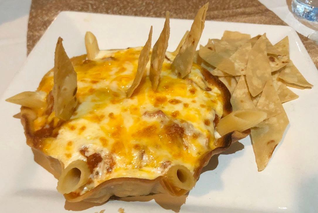 355 Lifestyle Restaurant Pasta Nachos - LET'S CHECK OUT 355 STEAKHOUSE, MAITAMA