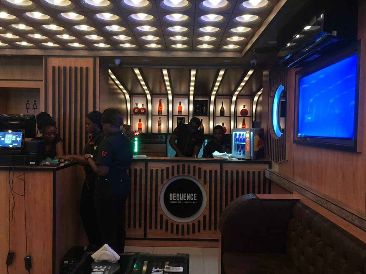 Sequence Lounge Abuja Bar - LET'S CHECK OUT SEQUENCE LOUNGE, MAITAMA