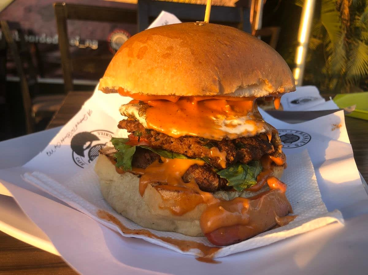 Frankies Grill Abuja Double Decker Burger - LET'S ORDER FROM FRANKIES GRILL, WUSE 2