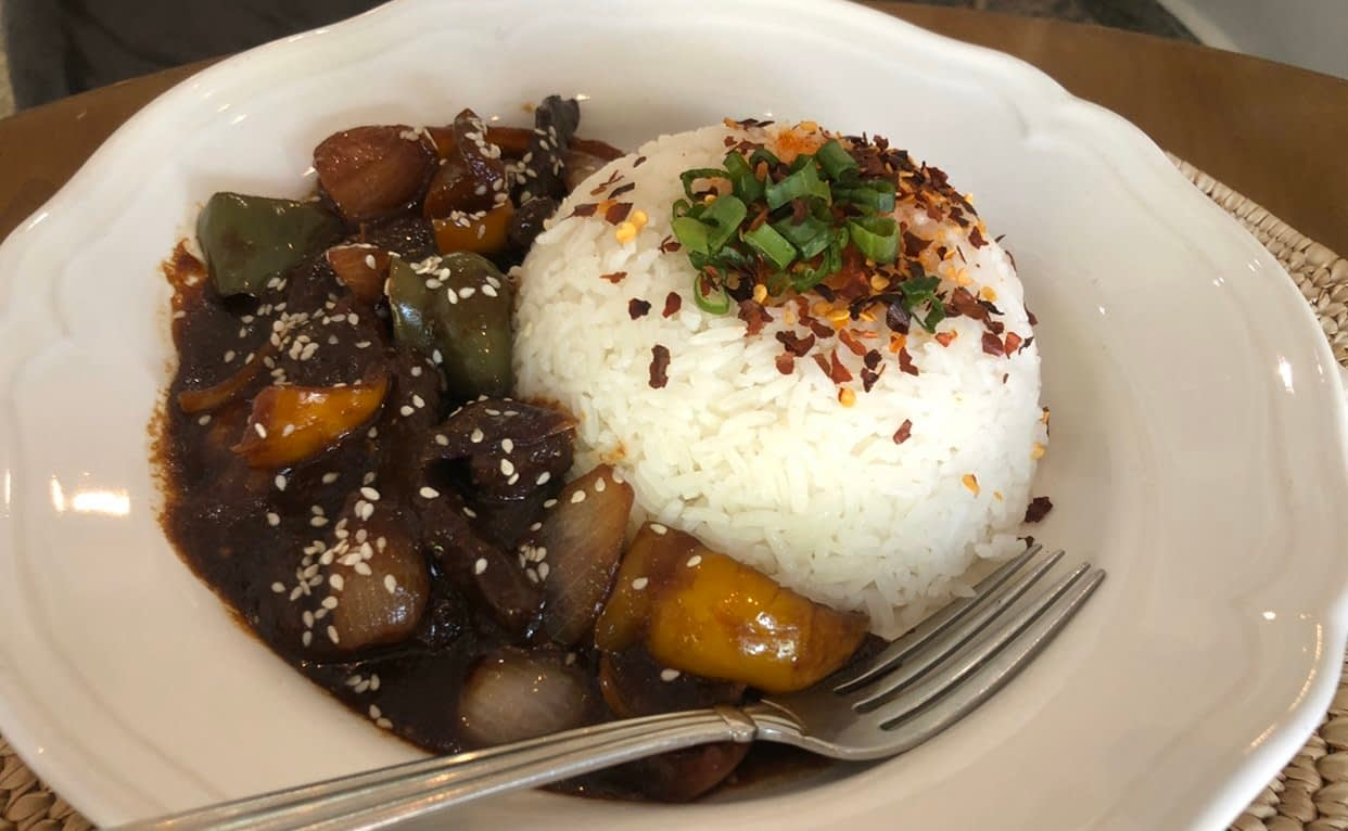 Rice Bowl Mongolian Beef Sauce - LET'S CHECK OUT RICE BOWL, WUSE 2